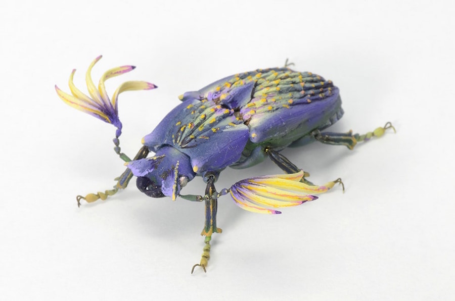 Fantastic Sculptures of Imaginative Insects by Hiroshi Shinno 11 Fantastic Sculptures of Imaginative Insects by Hiroshi Shinno