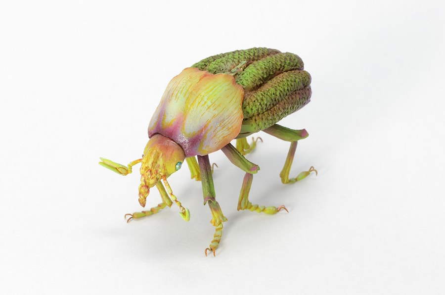 Fantastic Sculptures of Imaginative Insects by Hiroshi Shinno 12 Fantastic Sculptures of Imaginative Insects by Hiroshi Shinno