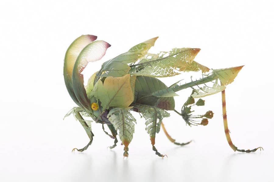 Fantastic Sculptures of Imaginative Insects by Hiroshi Shinno 2 Fantastic Sculptures of Imaginative Insects by Hiroshi Shinno