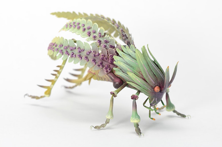 Fantastic Sculptures of Imaginative Insects by Hiroshi Shinno 3 Fantastic Sculptures of Imaginative Insects by Hiroshi Shinno