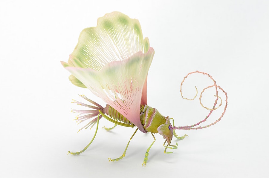 Fantastic Sculptures of Imaginative Insects by Hiroshi Shinno 4 Fantastic Sculptures of Imaginative Insects by Hiroshi Shinno