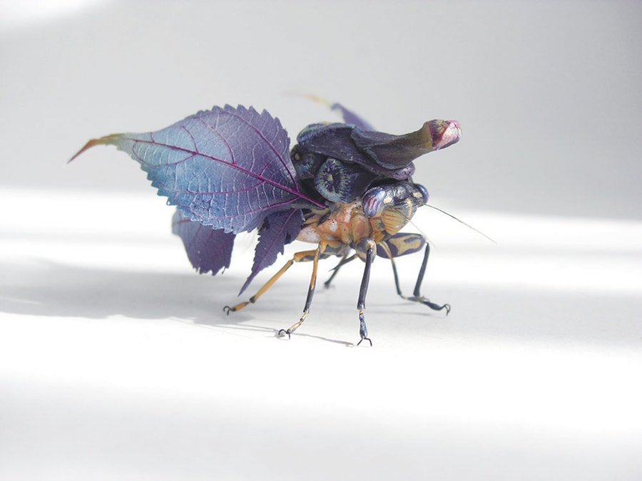 Fantastic Sculptures of Imaginative Insects by Hiroshi Shinno 5 Fantastic Sculptures of Imaginative Insects by Hiroshi Shinno