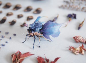 Fantastic Sculptures of Imaginative Insects by Hiroshi Shinno