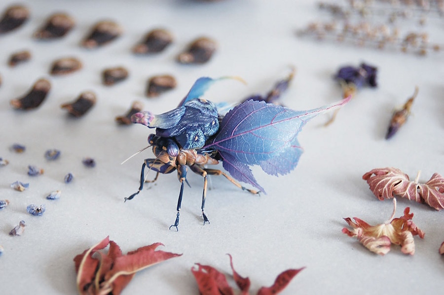 Fantastic Sculptures of Imaginative Insects by Hiroshi Shinno 6 Fantastic Sculptures of Imaginative Insects by Hiroshi Shinno