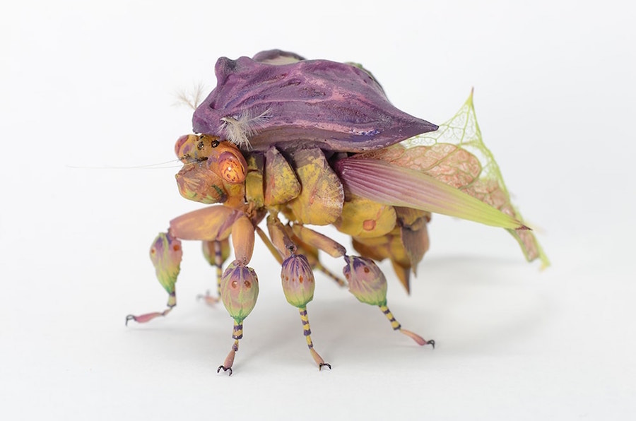 Fantastic Sculptures of Imaginative Insects by Hiroshi Shinno 7 Fantastic Sculptures of Imaginative Insects by Hiroshi Shinno