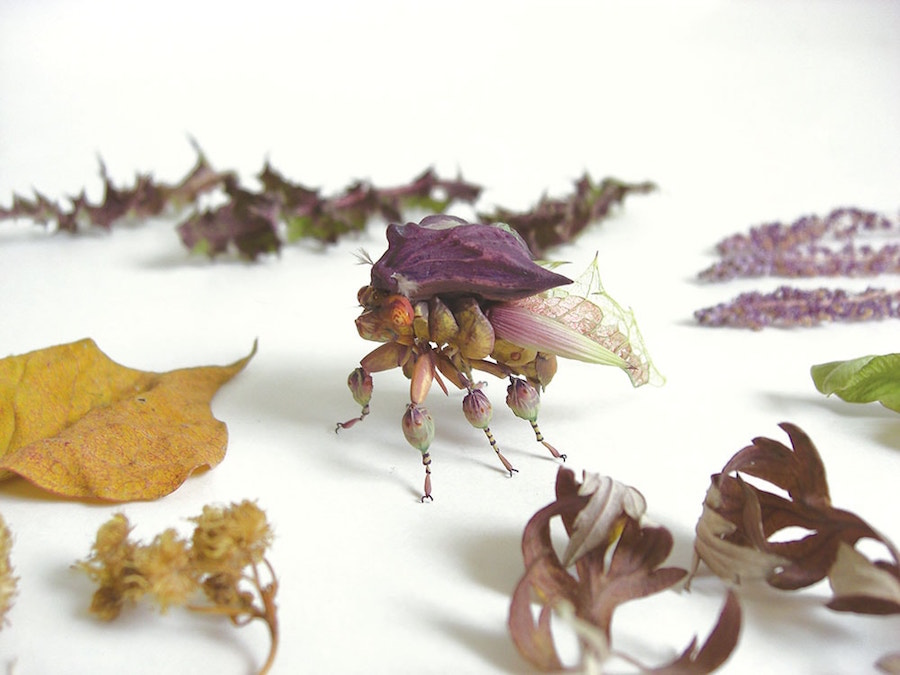 Fantastic Sculptures of Imaginative Insects by Hiroshi Shinno 8 Fantastic Sculptures of Imaginative Insects by Hiroshi Shinno