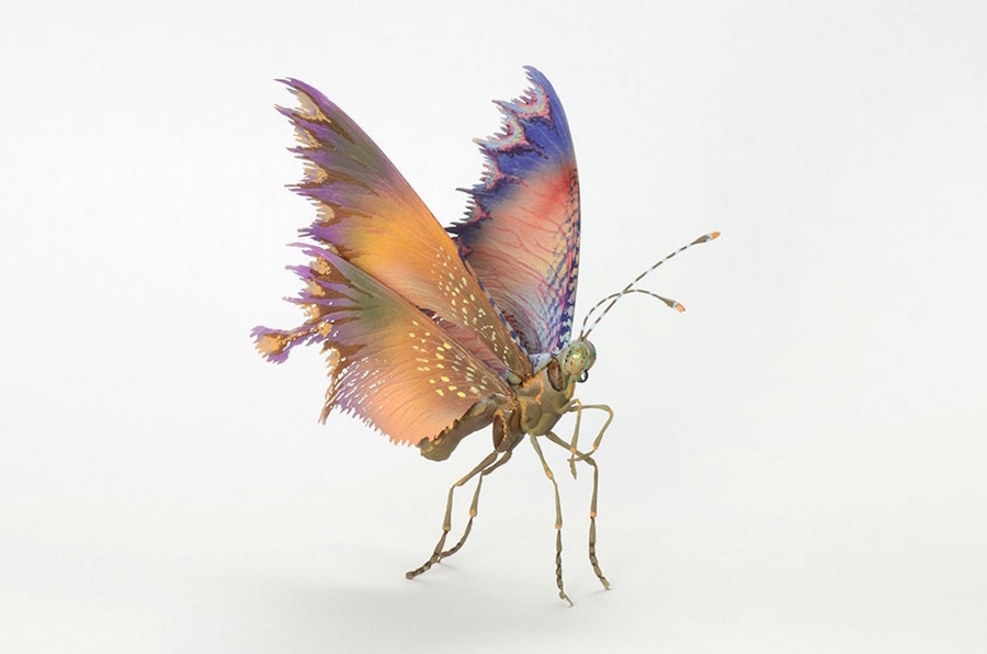 Fantastic Sculptures of Imaginative Insects by Hiroshi Shinno Fantastic Sculptures of Imaginative Insects by Hiroshi Shinno