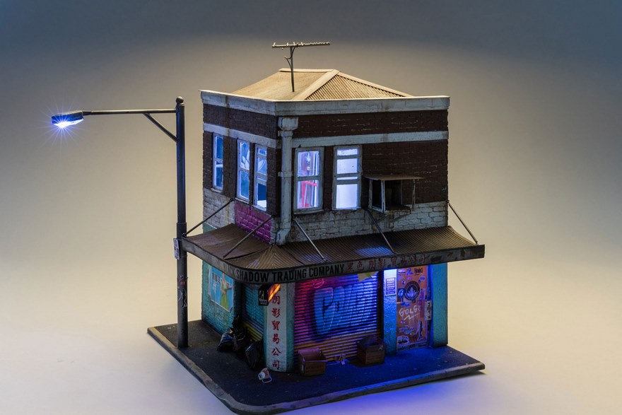 Miniature Urban Architecture Joshua Smith 12 Urban Miniature Cities So Detailed You'll Need A Magnifying Glass