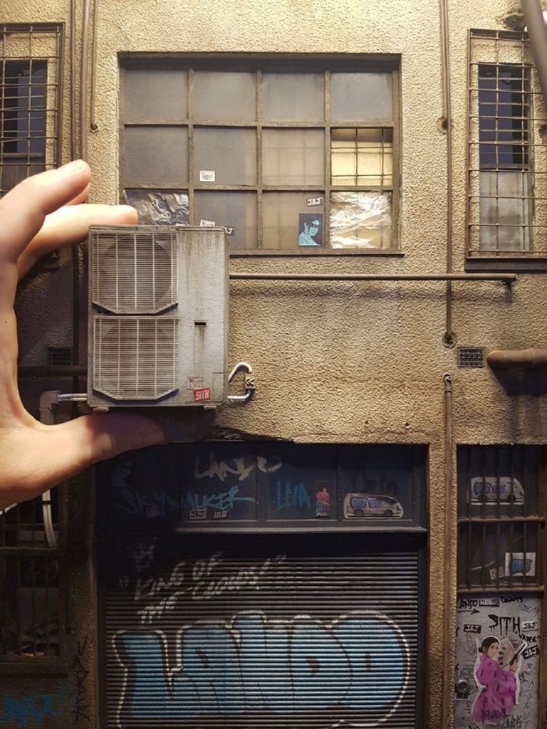 Miniature Urban Architecture Joshua Smith 4 768x1024 Urban Miniature Cities So Detailed You'll Need A Magnifying Glass