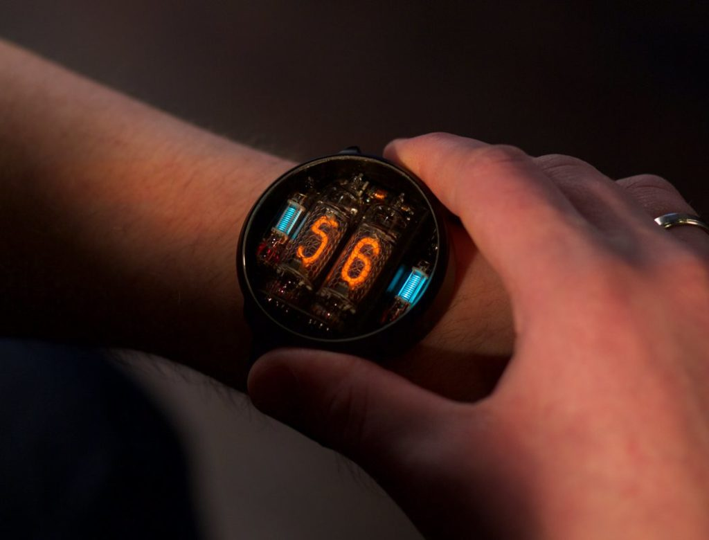 NIWA Nixie tube watch 1 1024x780 Do You Think Your Watch is Coolest? You Mush See This One!!