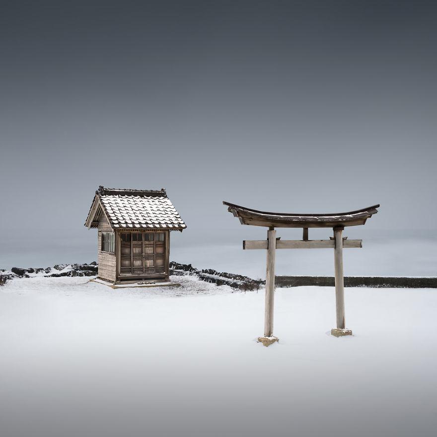Torii VIII Hokkaido Hokkaido Japan Photograph I Spent Three Weeks Photographing Japan's Spirituality And Modernism