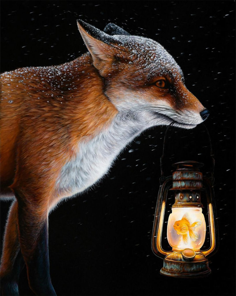 Amazing Surreal Animal Illustration by Jacub Gagnon 819x1024 Stunning Surreal Animal Illustration by Jacub Gagnon