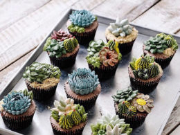 Amazing Terrarium and Flower Cakes Created by Iven Kawi 2 260x195 Home V.2