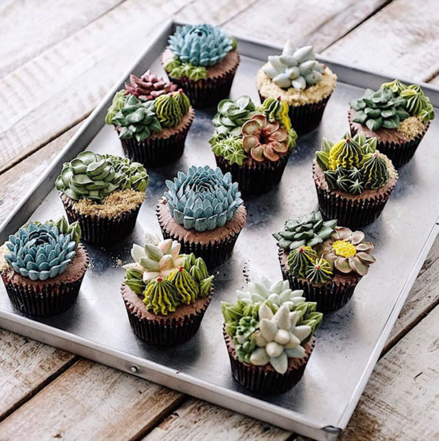 Delicious and Amazing Terrarium and Flower Cakes Created by Iven Kawi