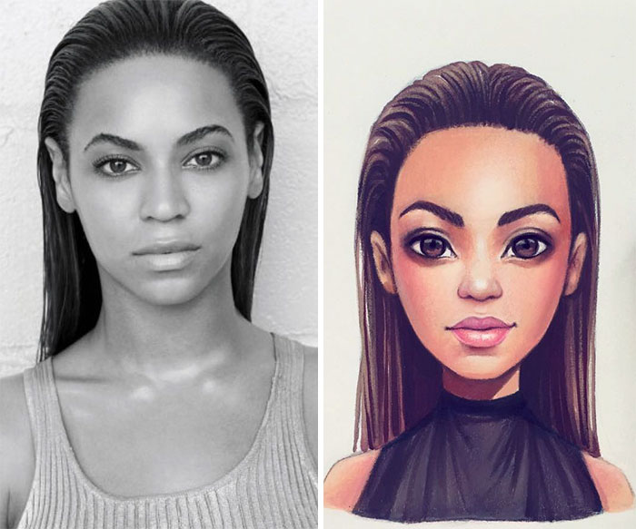 Celebrities Turned Into Cute Cartoon Characters By Russian Artist 13 Celebrities Turned Into Cute Cartoon Characters By Russian Artist