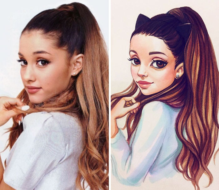 Celebrities Turned Into Cute Cartoon Characters By Russian Artist 18 Celebrities Turned Into Cute Cartoon Characters By Russian Artist