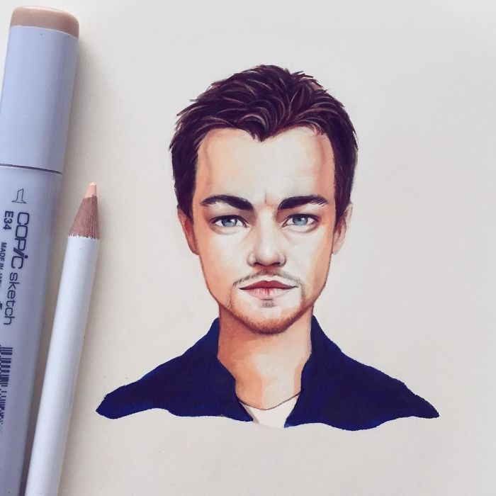 Celebrities Turned Into Cute Cartoon Characters By Russian Artist 9 Celebrities Turned Into Cute Cartoon Characters By Russian Artist