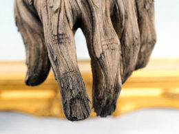 'Wood' Sculptures that are Actually Made of Ceramic