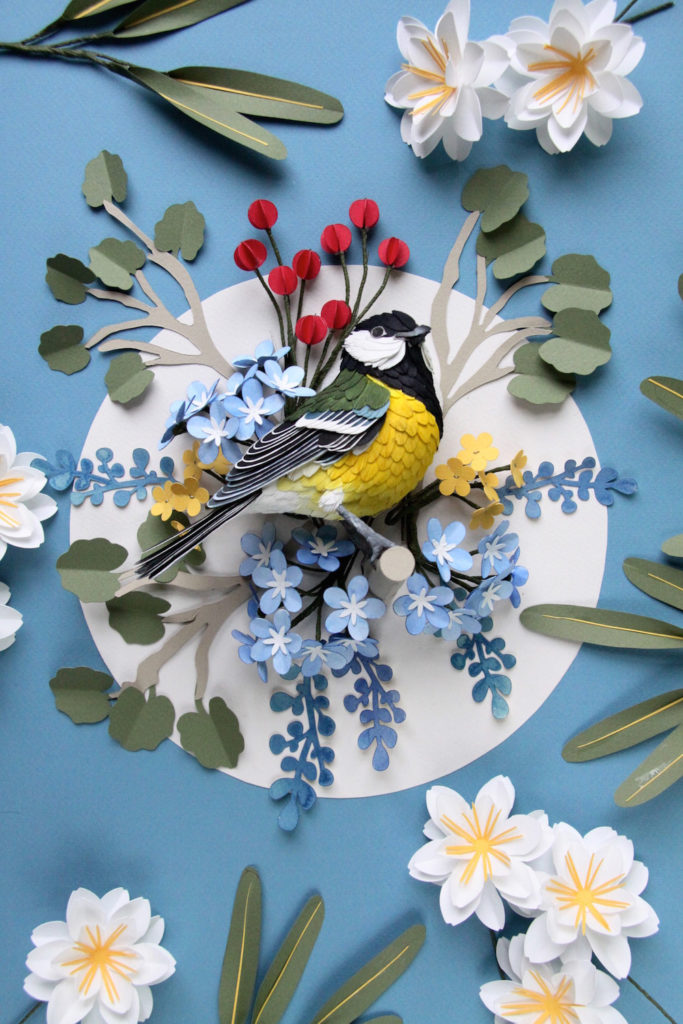 Colourful Paper Bird Sculptures by Diana Beltran Herrera 6 683x1024 Colourful Paper Bird Sculptures by Diana Beltran Herrera