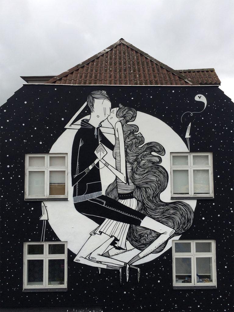 Creative Black and White Street Art by Alex Senna 11 768x1024 Creative Black and White Street Art by Alex Senna