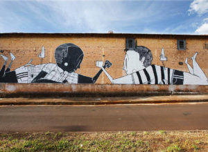 Creative Black and White Street Art by Alex Senna