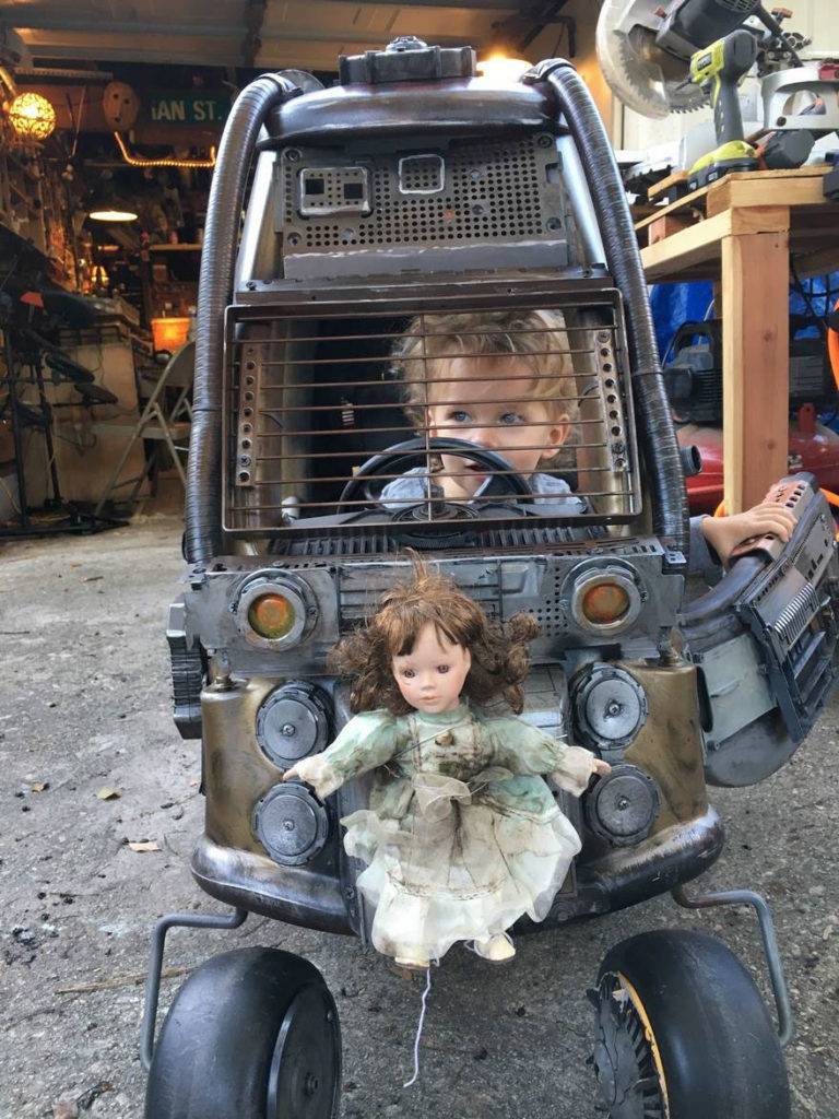 "Dad Turns Kids' Toy Cars Into Badass ""Mad Max"" 768x1024 Dad Turns Kids' Toy Cars Into Badass ""Mad Max"" Vehicles : Fury Road Vehicles"