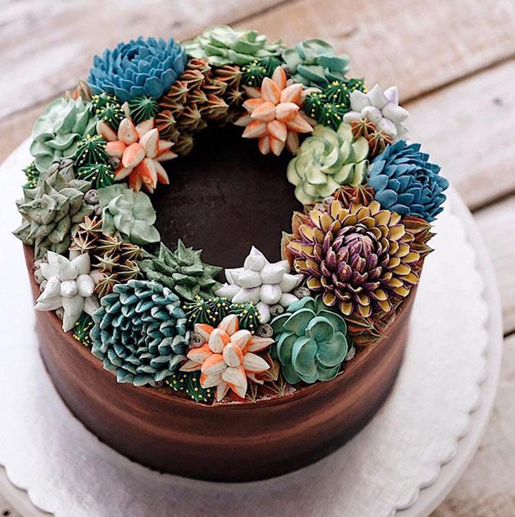 Delicious Terrarium and Flower Cakes Created by Ivenoven Delicious and Amazing Terrarium and Flower Cakes Created by Iven Kawi