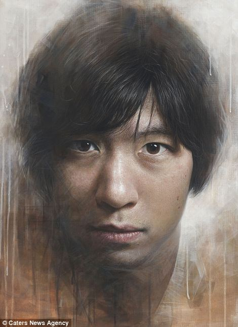Giant Hyperrealistic Portrait Paintings By Joongwon Jeong 7 Giant Hyperrealistic Portrait Paintings By Joongwon Jeong