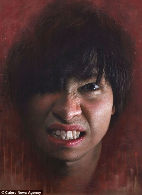 Giant Hyperrealistic Portrait Paintings By Joongwon Jeong 8 Giant Hyperrealistic Portrait Paintings By Joongwon Jeong