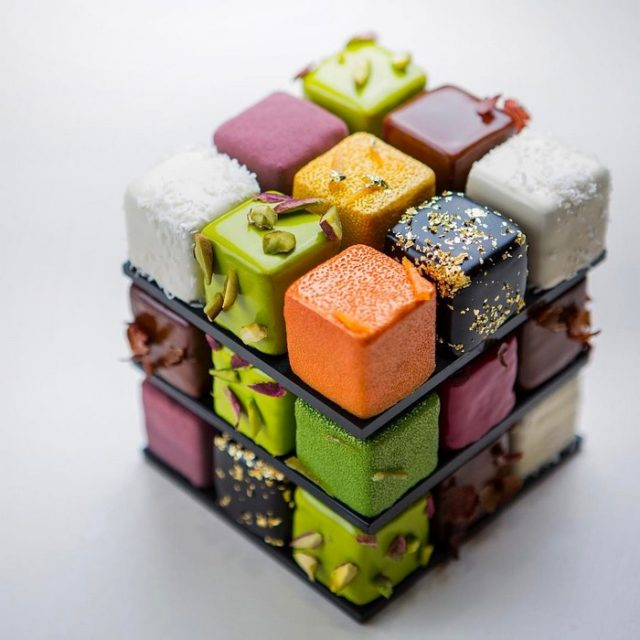 Rubik's Cakes Are A Thing And They're Too Pretty To Eat