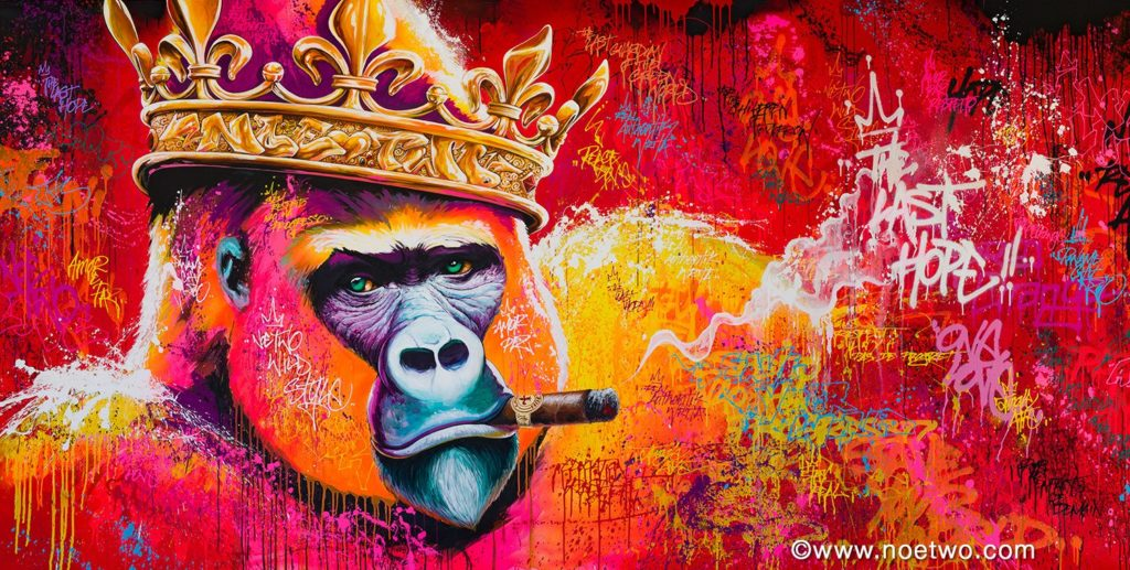 Stunning Street Art and Graffiti by Noé Two 1 1024x517 Stunning Street Art by Noé Two