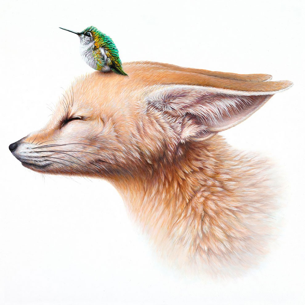 Surreal Animal Illustration by Jacub Gagnon Stunning Surreal Animal Illustration by Jacub Gagnon