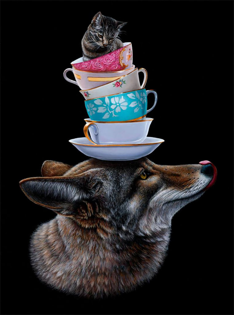 Wonderful Surreal Animal Illustration by Jacub Gagnon 6 761x1024 Stunning Surreal Animal Illustration by Jacub Gagnon