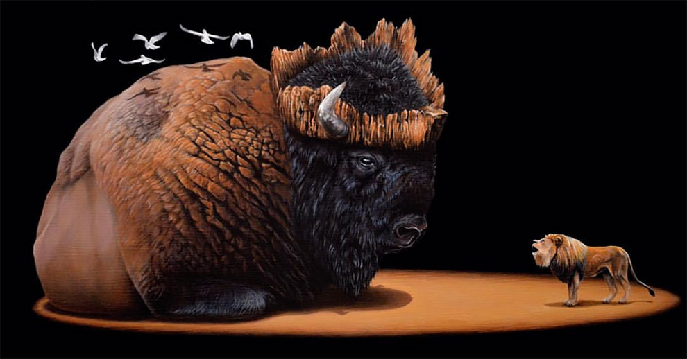 Wonderful Surreal Animal Illustration by Jacub Gagnon Stunning Surreal Animal Illustration by Jacub Gagnon