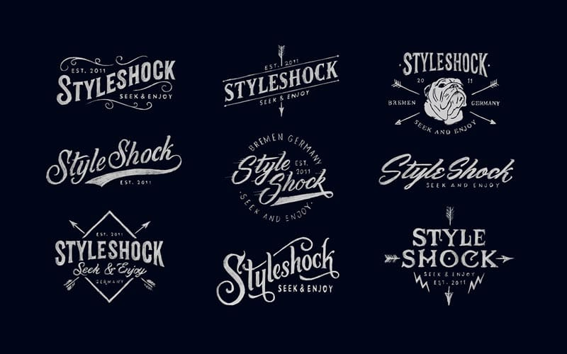 20 Beauty Hand Drawn Logo Design Inspiration 1 20 Creative Hand Drawn Logo Design Inspiration