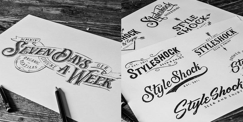 20 Creative Hand Drawn Logo Design Inspiration 2 20 Creative Hand Drawn Logo Design Inspiration