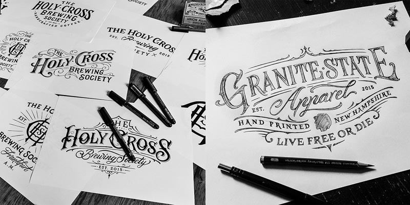 20 Creative Hand Drawn Logo Design Inspiration 3 20 Creative Hand Drawn Logo Design Inspiration