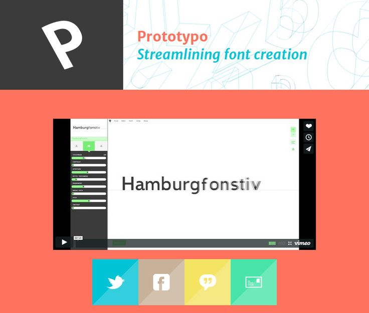6.prototypo 10 Best Graphic design tools for 2017