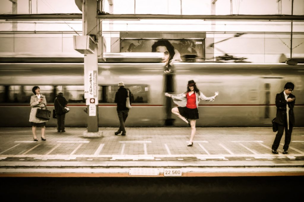 Streets Dancers Photographs Platform featuring Haruna Shimonishi 1024x682 Magnificent Photographs of Dancers in the Streets