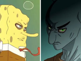 Someone Just Turned 'Spongebob' Into Anime, And Your Childhood Might Be Ruined