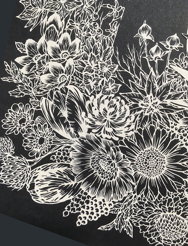 Amazing of Paper Cuts Ideas Detailed Paper Cuts Swirling Forms Of Nature by Kiri Ken