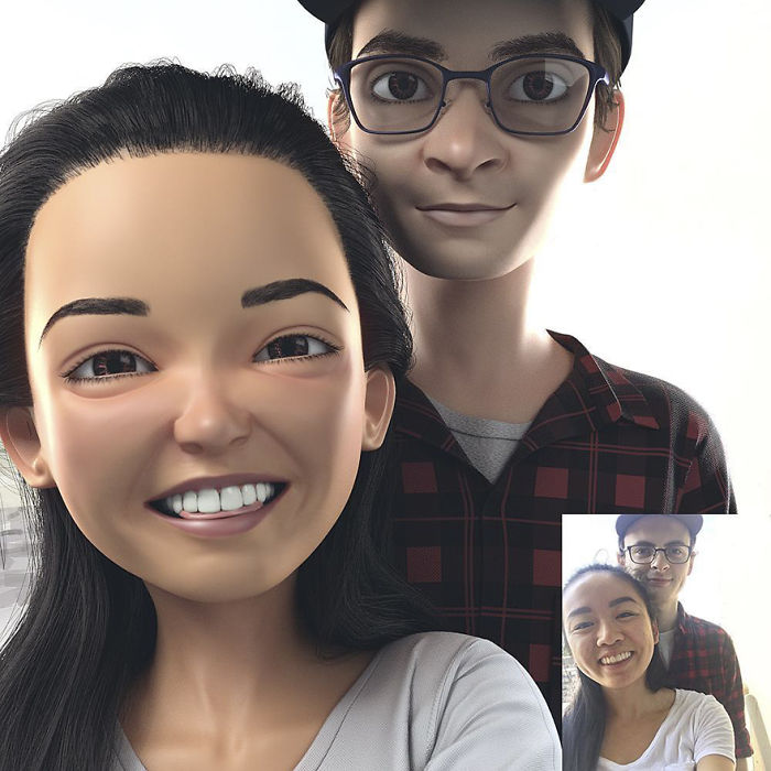 Artist Transforms Strangers Into Awesome 3D Cartoons 21 Artist Turns People Into 3D Pixar Like Characters