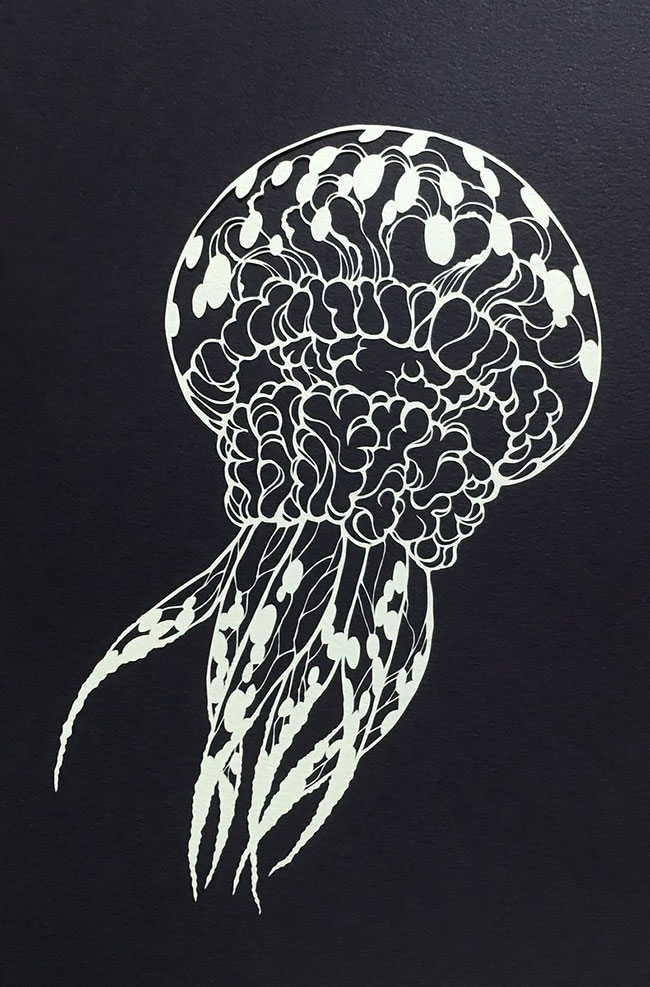 Detailed Paper Cuts Ideas Detailed Paper Cuts Swirling Forms Of Nature by Kiri Ken