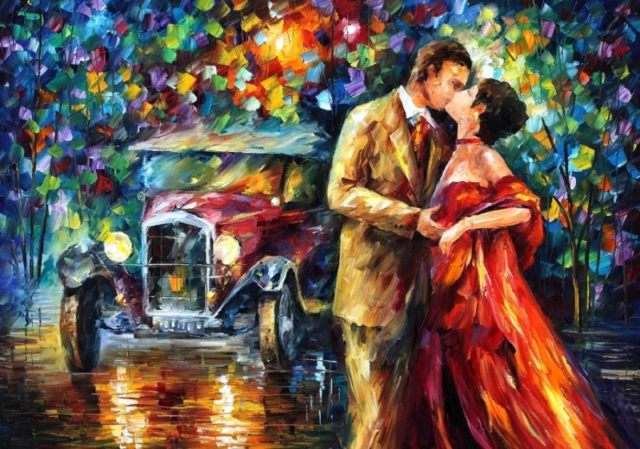 Paintings of Artists Who Write About Love