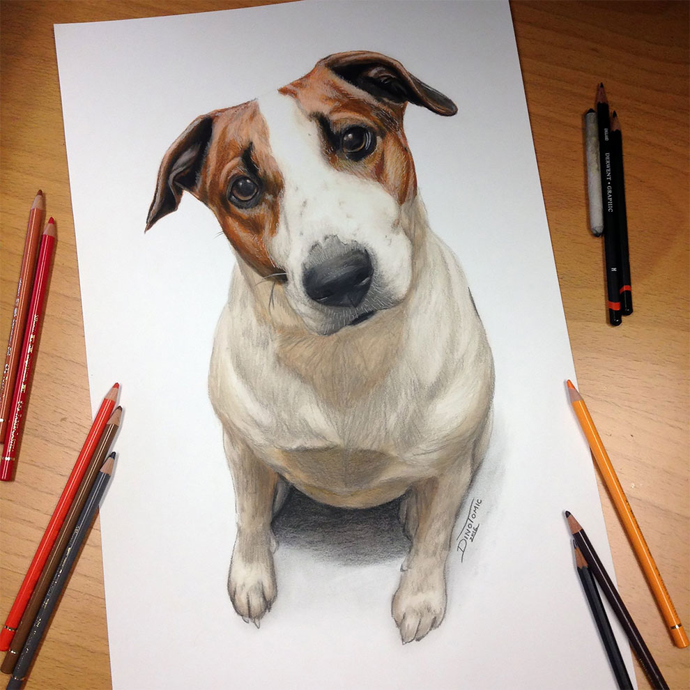 Realistic And Expressive Drawings By Dino Tomic 12 Realistic And Expressive Drawings By Dino Tomic