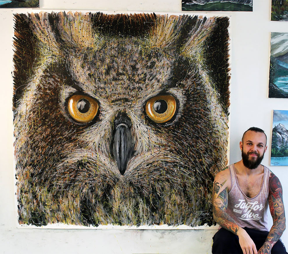 Realistic And Expressive Drawings By Dino Tomic 13 Realistic And Expressive Drawings By Dino Tomic