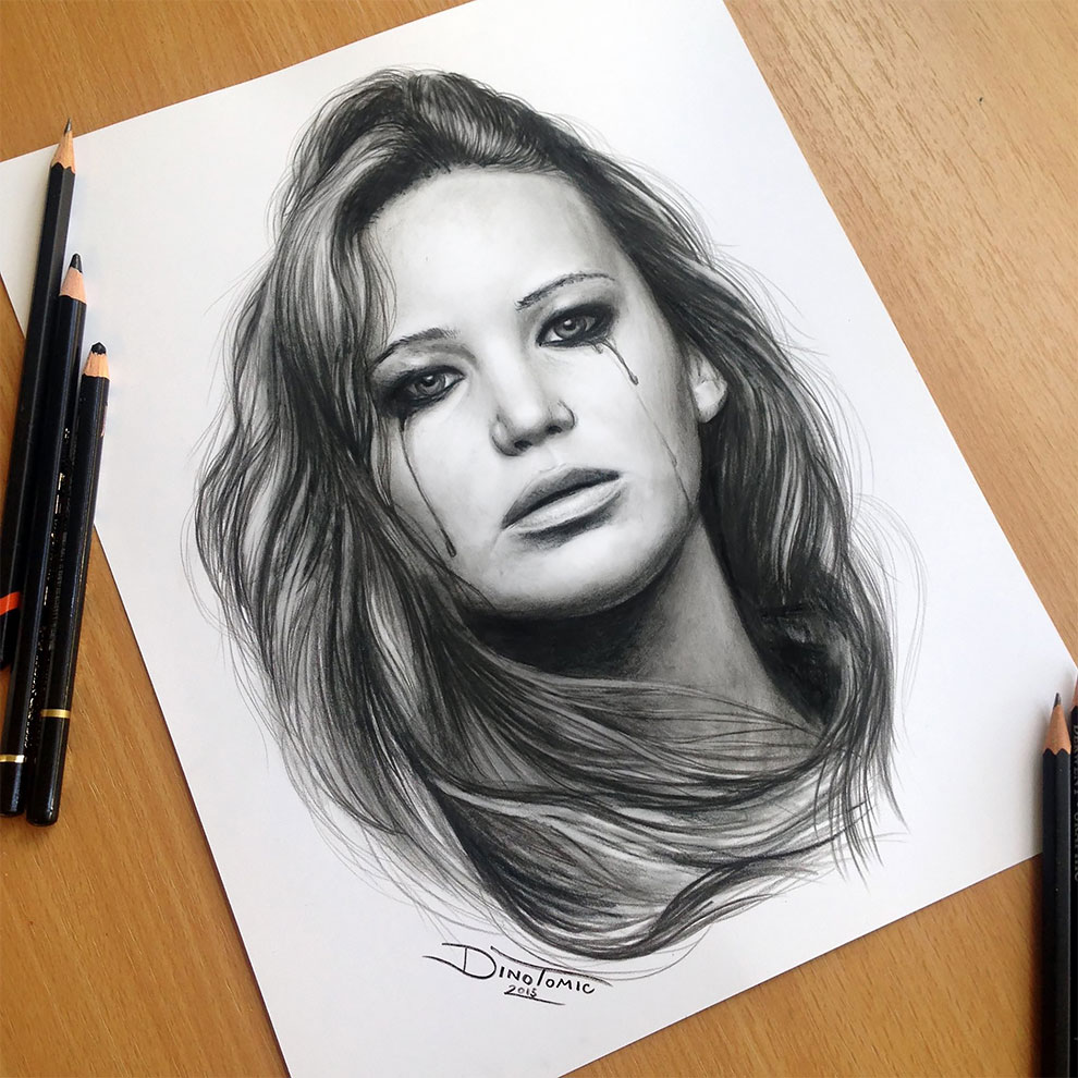 Realistic And Expressive Drawings By Dino Tomic 4 Realistic And Expressive Drawings By Dino Tomic