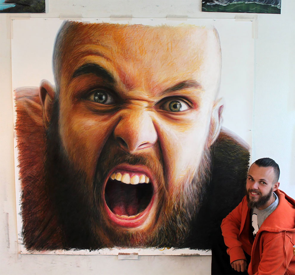 Realistic And Expressive Drawings By Dino Tomic Realistic And Expressive Drawings By Dino Tomic