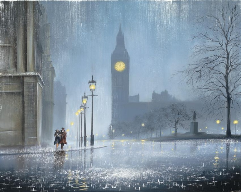Romantic Painting by Jeff Rowlan 1 Paintings of Artists Who Write About Love