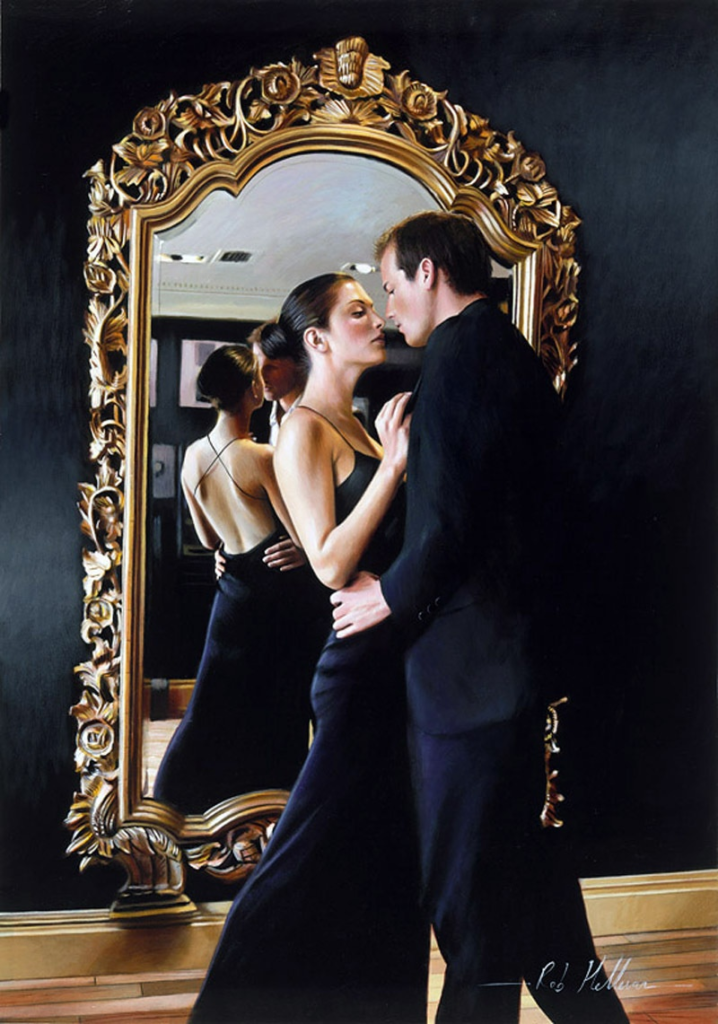 Wonderful Hyperrealism painting by Rob Hefferns 1 718x1024 Paintings of Artists Who Write About Love